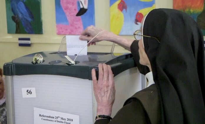 Nun vote