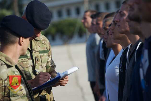 AFM Recruits