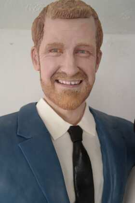 Prince Harry sculpture