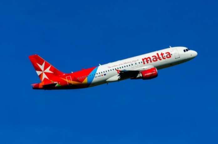 Air Malta problema auto pilot