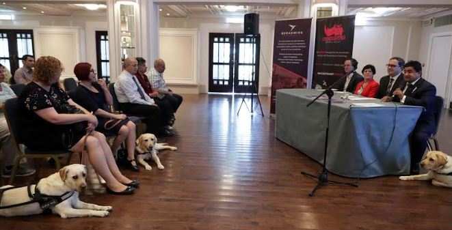 Guide Dog meeting