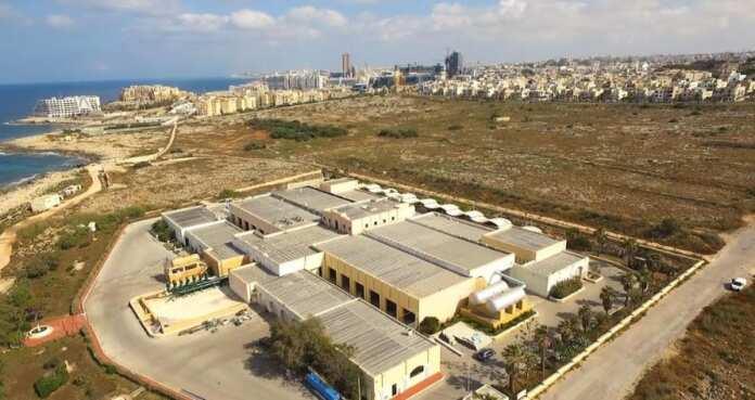 Drone shot Malta