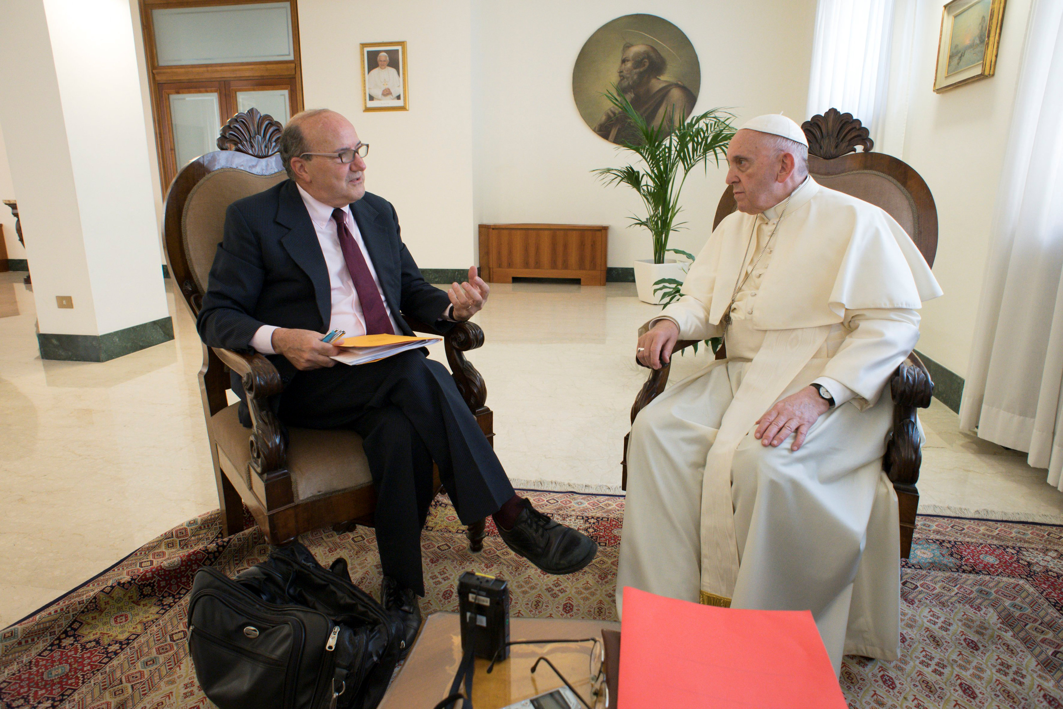 Pope Francis Meeting
