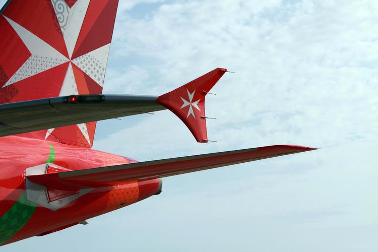 Air Malta wing