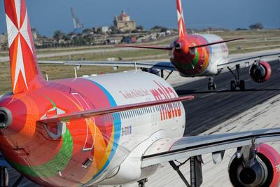 Air Malta planes