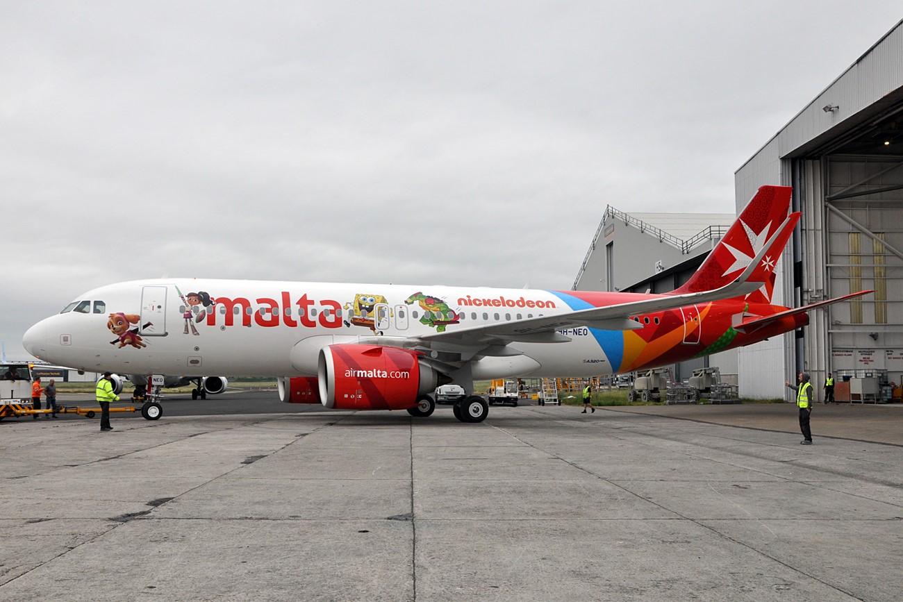 Air-Malta nickelodeon