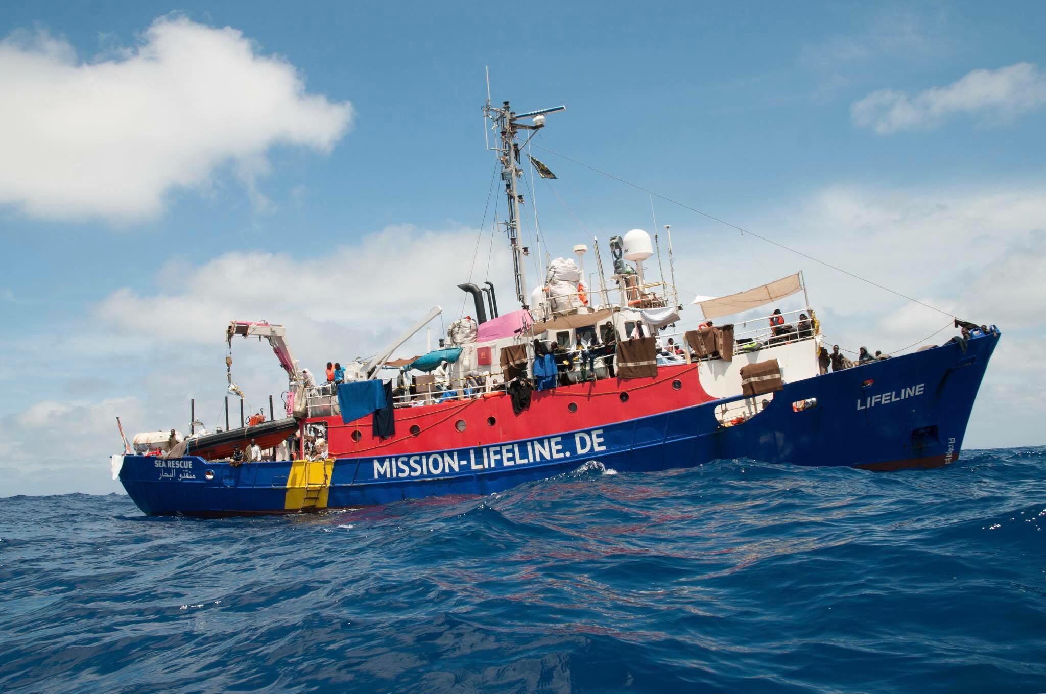Lifeline Immigrants boat