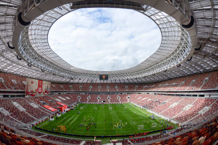 World Cup Luzhniki Stadium