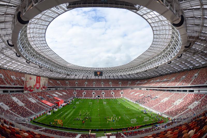 World Cup Luzhniki Stadium