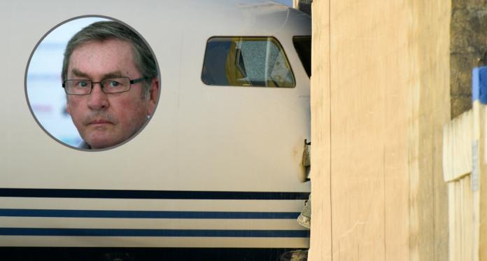 lord ashcroft plane
