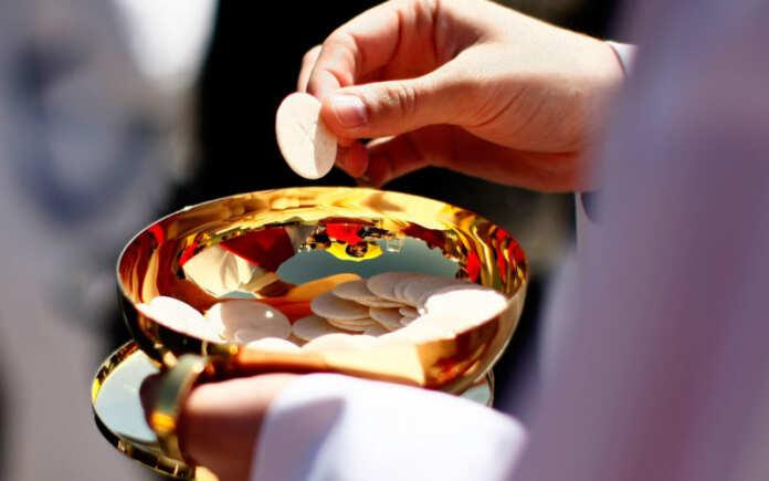 Pope Benedict XVI Celebrates Mass At Nationals Stadium