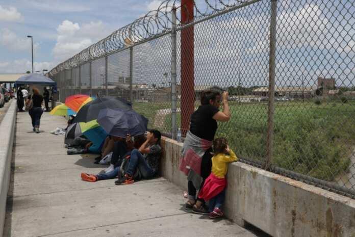 Asylum Seekers waiting