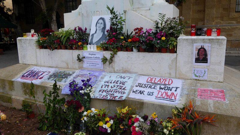 Daphne Caruana Galizia memorial, Valletta
