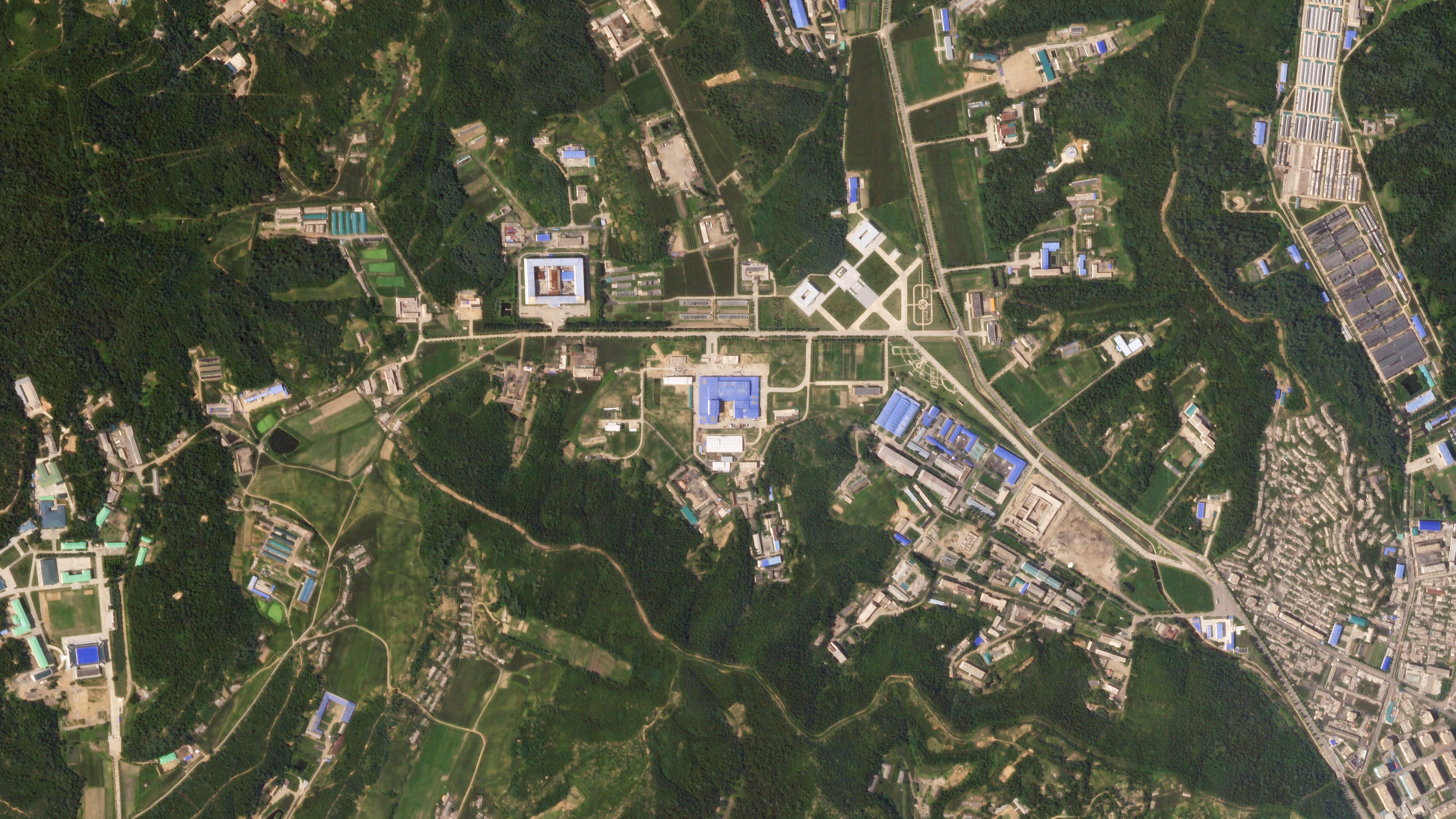 satellite image - Sanumdong missile production site, North Korea