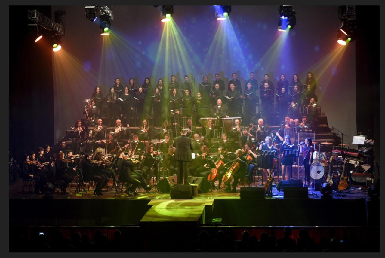Opera vs Pop Under the Stars performance