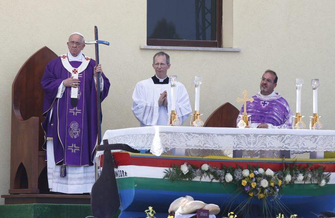 Lampedusa - Pope Francis
