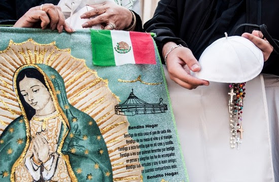 Mexican pilgrims in the Vatican