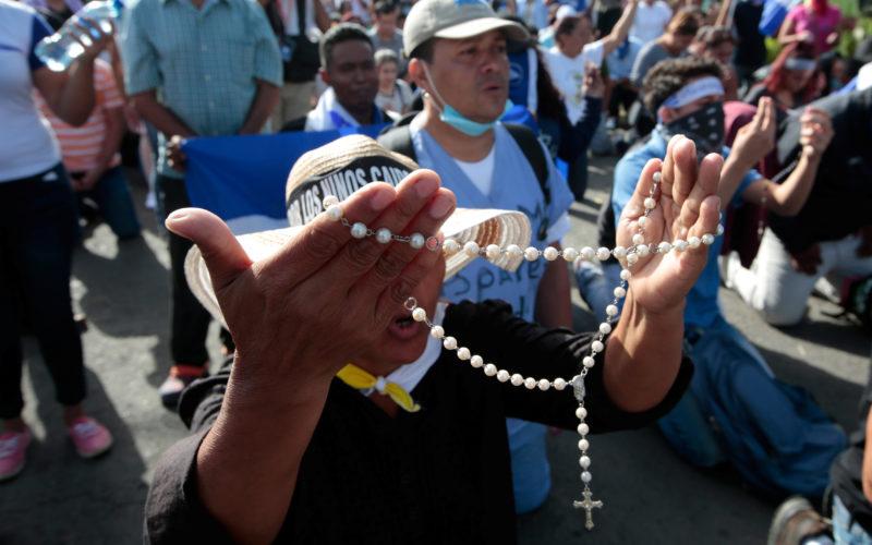 UNIVERSITY STUDENTS REFUGE CATHOLIC CHURCH NICARAGUA