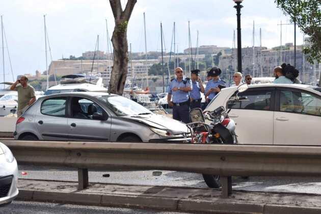 Mutur karozzi accident msida marina