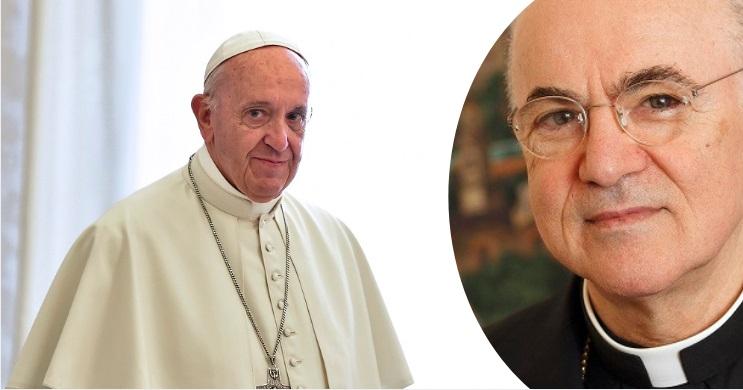 pope francis - vigano