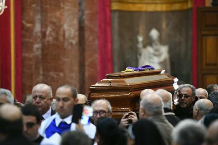 Funeral Silvestru Magro Malta