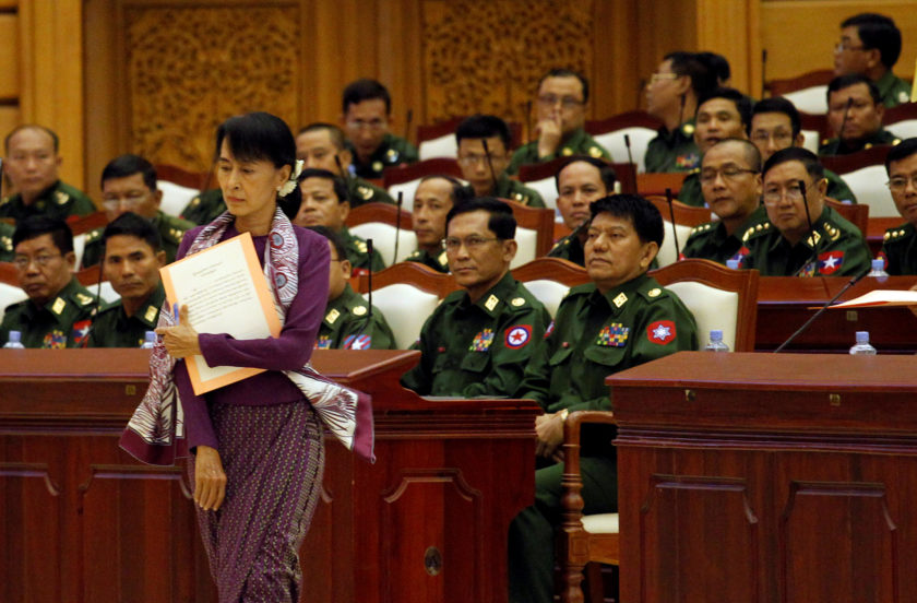 Myanmar parliament approves panel to discuss constitution despite military protest - Newsbook