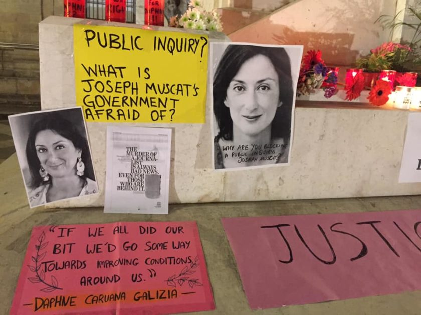 Daphne's murder: Degiorgio gives 24-hour ultimatum for phone intercepts - Newsbook