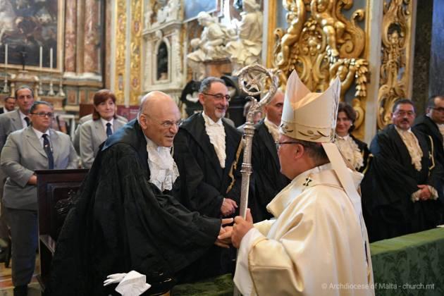 Il-Quddiesa Pontifikali ccelebrata mill-Arcisqof Charles J. Scicluna fil-festa nazzjonali ta' Jum l-Indipendenza, fil-Konkatidral ta' San Gwann, il-Belt Valletta.