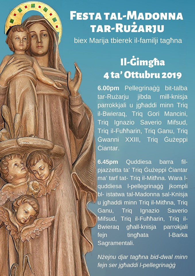 Feast of Our Lady of the Rosary celebrations - Newsbook