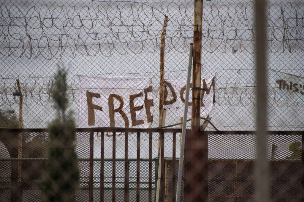 Protest for freedom at Safi detention centre - Newsbook