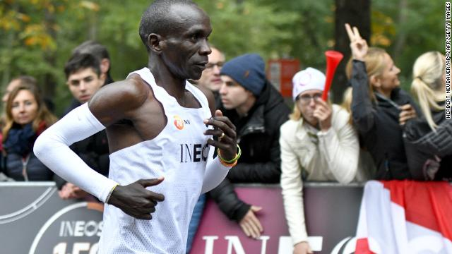 Kenyan Athlete completes Vienna marathon in under two hours - Newsbook