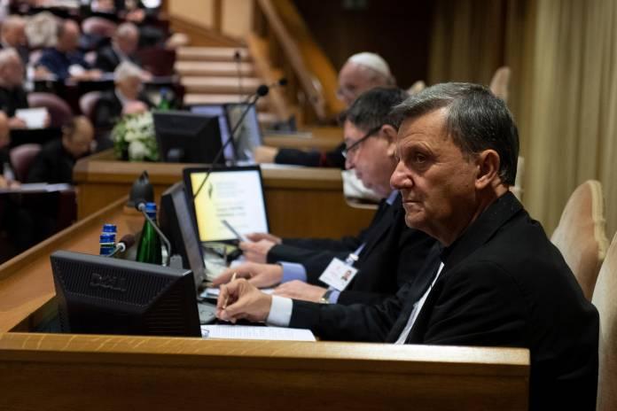 L-Isqof Mario Grech - Sinodu 1