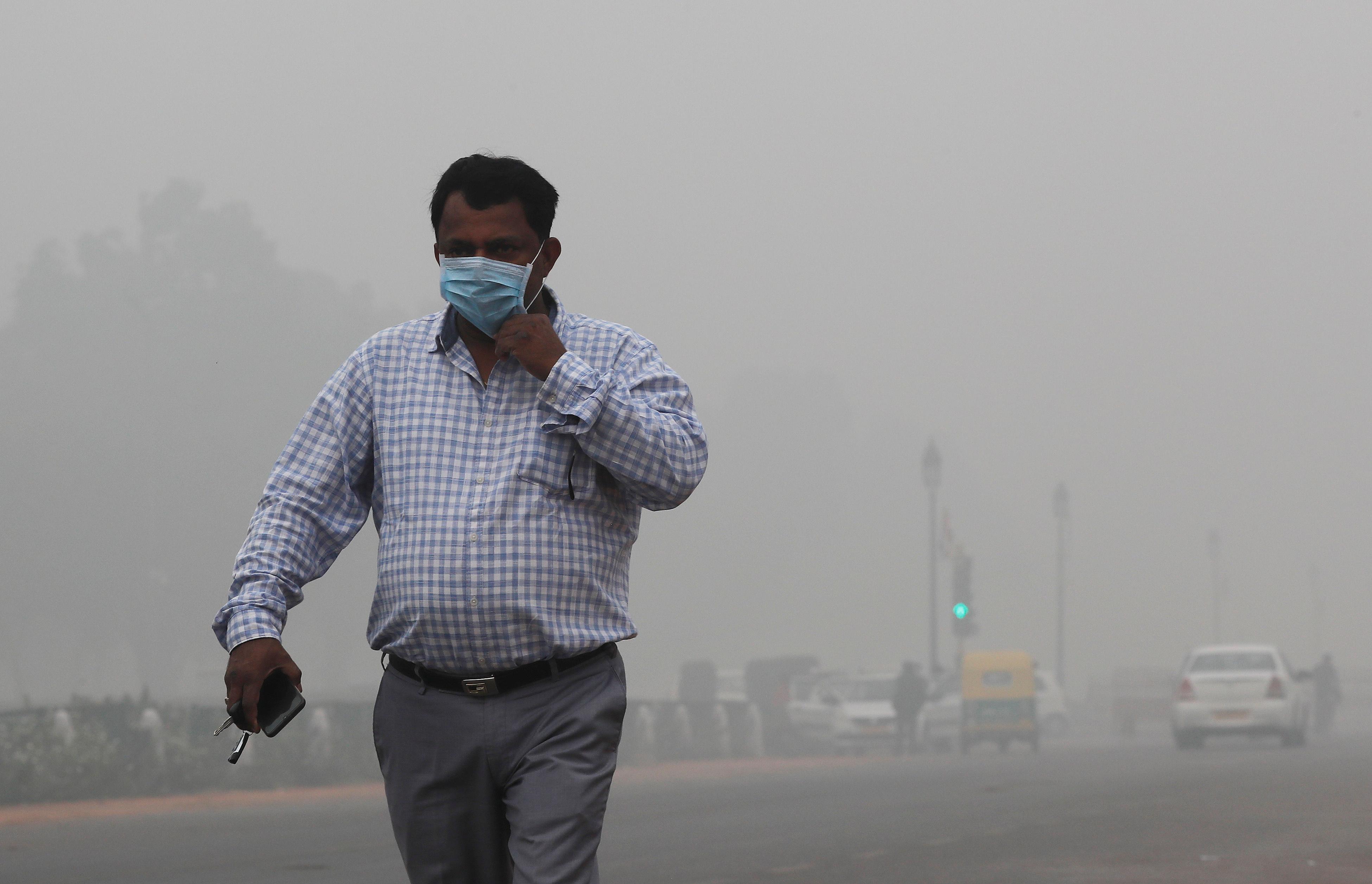 India's Far Hazardous Suffers This Most Smog-bound So Air Capital
