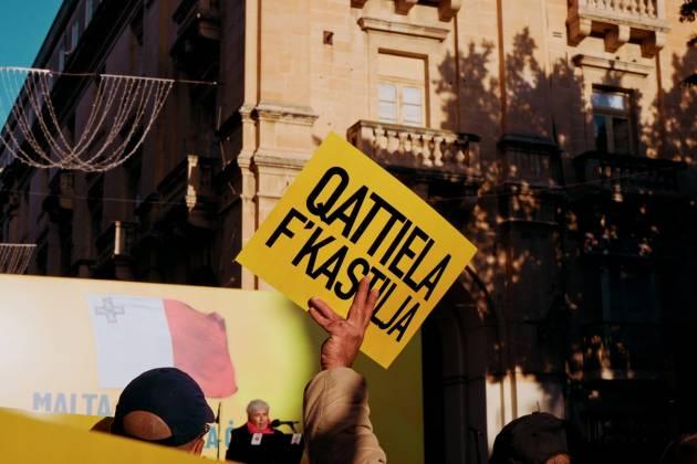 anti corruption protest daphne caruana galizia