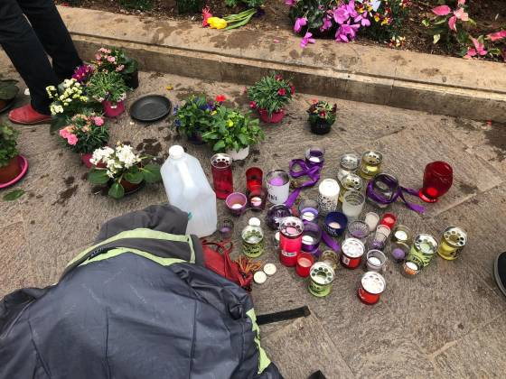 Daphne's memorial