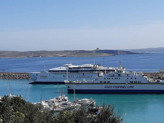 Katamaran Virtu Ferries Mġarr Gozo