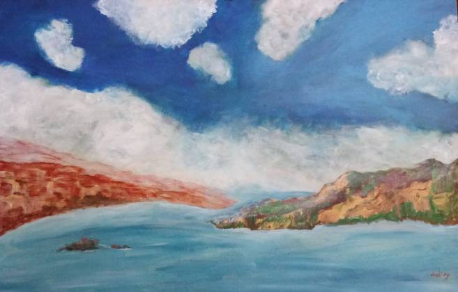 painting cliffs