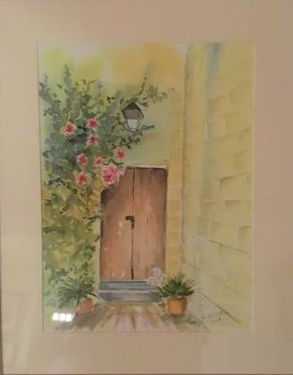 painting entryway