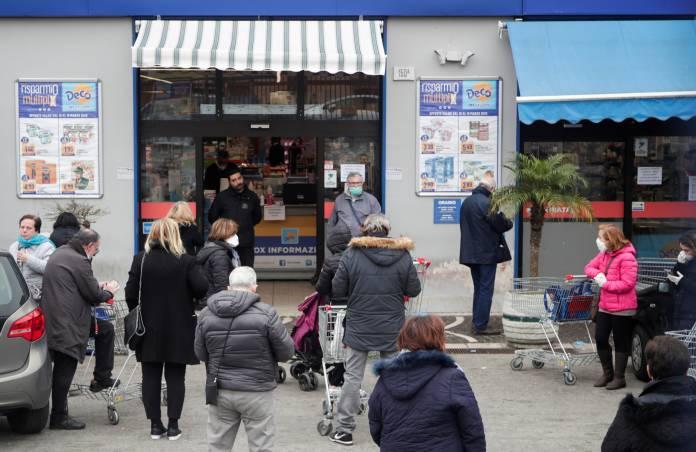 Day four of Italy's nationwide coronavirus lockdown, in Naples