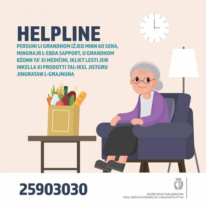 Helpline corona