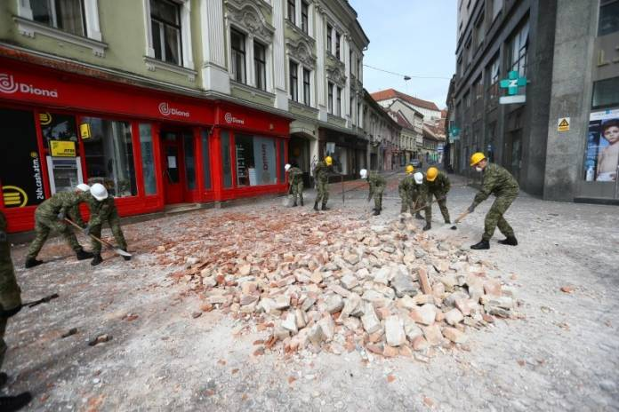 Earthquake strikes Croatia