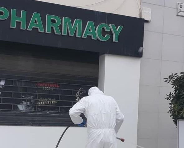 Pharmacy fumigation