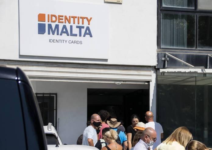 Identity-Malta-queue