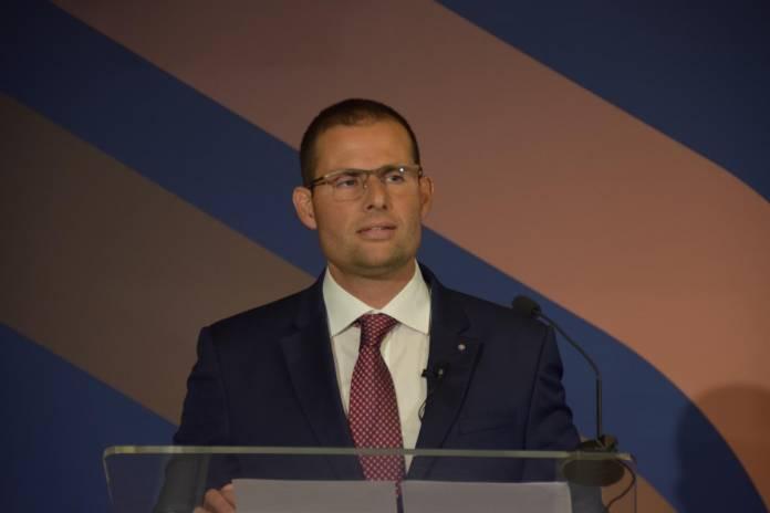 Il-Prim Ministru Robert Abela waqt laqgħa tal-Kamra tal-Kummerċ