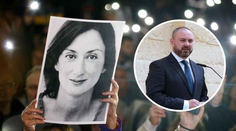 Bonnici claims he cleared Daphne memorial 'to avoid conflict' - Newsbook