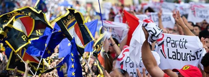 Partit Nazzjonalisa, Partit Laburista, Mass Meeting