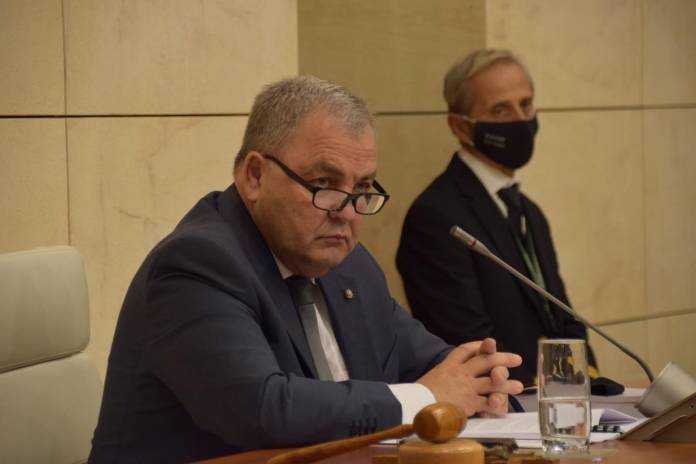 Parliamentary speaker Anglu Farrugia on Budget day