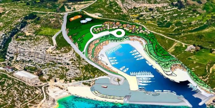Qala Ħondoq old plan