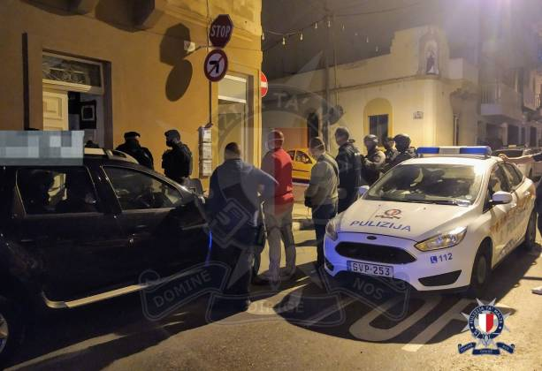 Triq Qrejten Police Raid Serbian man arrested