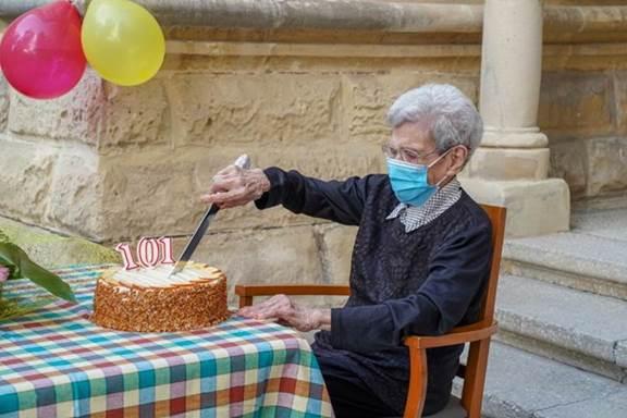 elderly birthday